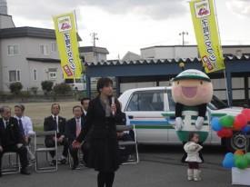 日乃出タクシー・福士社長のあいさつ